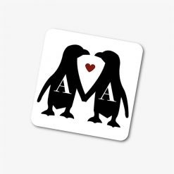 Personalised Couples Penguins