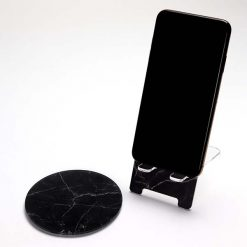Black Marble Set with phone
