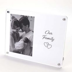 Our Family Freestanding Photo Frame