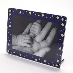 Starry Sky Freestanding Photo Frame Landscape