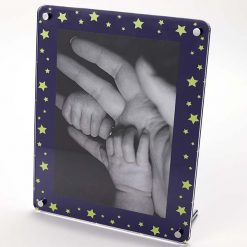 Starry Sky Freestanding Photo Frame Portrait