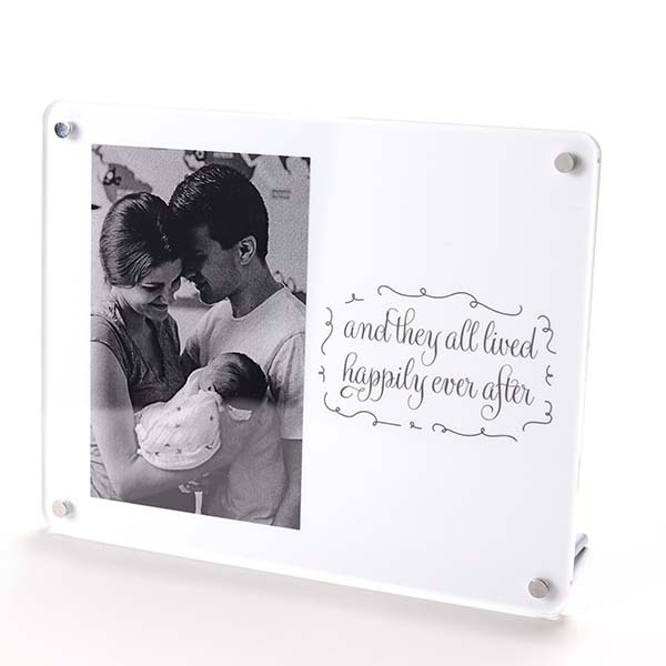And They All Lived Happily Ever After Photo Frame