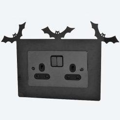 Bat Double Light Switch Surround
