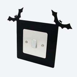 Bat Single Light Switch Surround