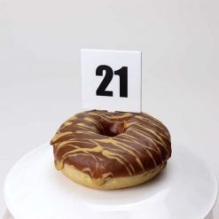 Birthday Numbers Picks in cake