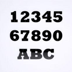 Bold Acrylic Door Numbers
