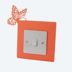 Butterfly Corner Light Switch Surround