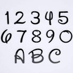 Disney House Numbers
