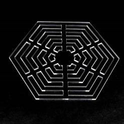 Hexagon Patchwork Stencil