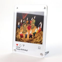 Instagram Design Printed Acrylic Freestanding Photo Frame