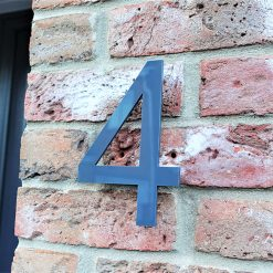 Oversized Acrylic House Number
