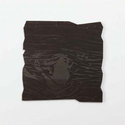 Dark Wood Effect Etched Coaster