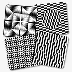 Illusions Coaster Set