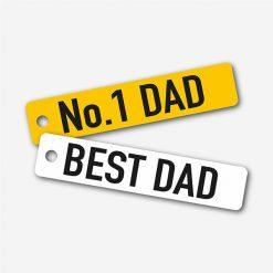 Best Dad Key Rings