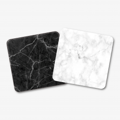 Black & White Square Marble