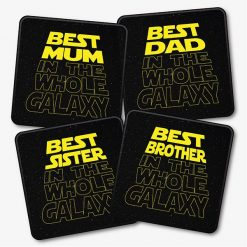 Best ... In The Galaxy Star Wars Coasters