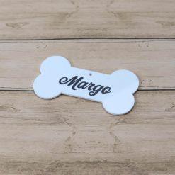 Personalised Dog Name Hanging Decoration