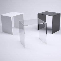 Modern Acrylic Side Tables