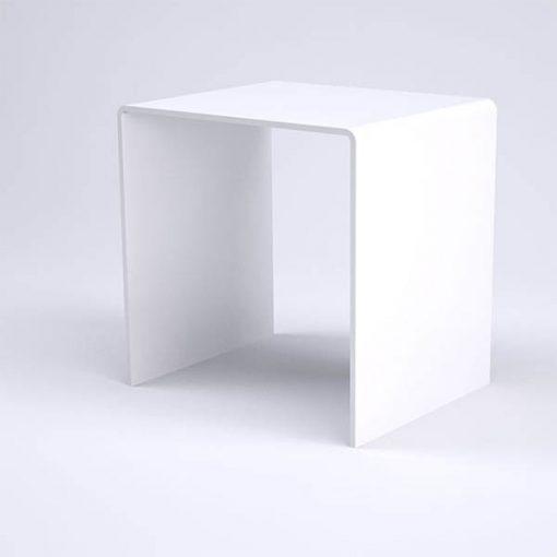 Modern White Acrylic Table