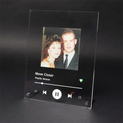Spotify Plaque White with Image