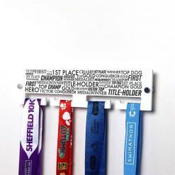 Champion Words & Medals Hanger