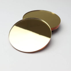 Gold Acrylic Mirror Circles