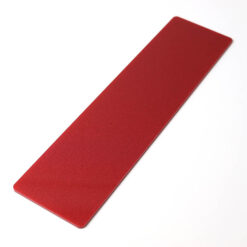 Metallic Red Rectangle Door Push Plates