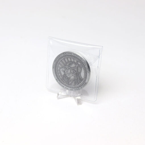 NHS Covid-19 Coin_Clear Stand Coin in Bag