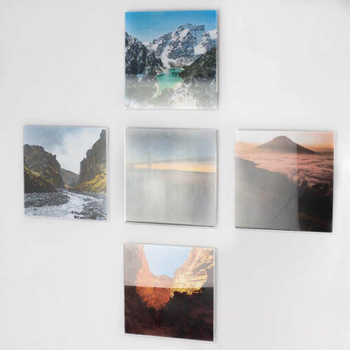 Self Adhesive Acrylic Square Photo Pockets_5 With Pictures