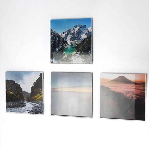 Self Adhesive Acrylic Square Photo Pockets_4 With Pictures