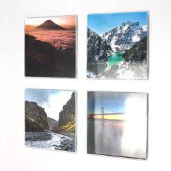 Acrylic Square Photo Pockets