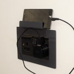 Double Socket Surround With Charging Stand - With Mobile