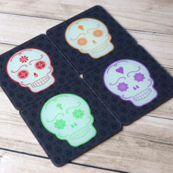 Day of the Dead Set of 4 Coasters